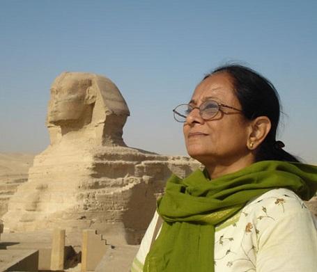 Daksha Jani in Egypt-400