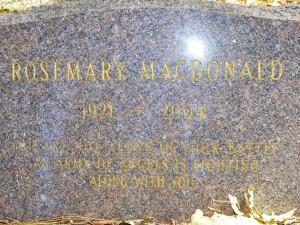 Rosemary Macdonald - 800