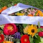 Angelina Thys - Funeral Flower wreath